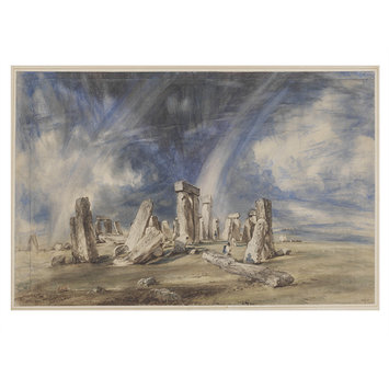 Watercolour - Stonehenge