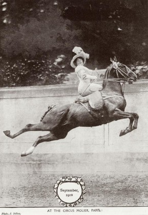 Circus Molier equestrienne, September 1910
