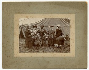 Performers from George Sanger's Circus, 1850-1900, Museum no. RP 81/2354