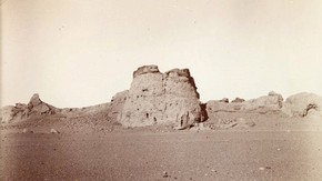 Ruined fort, Sir Marc Aurel Stein, 1906. Photo 392/27(109), &#169; The British Library Board