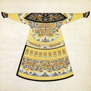 winter court robe worn by the Emperor