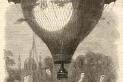 Godard's Balloon Ascent, 1864