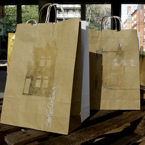 Carrier bags by Helen Scalway