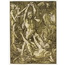 Hercules Slaying Cacus (Print)