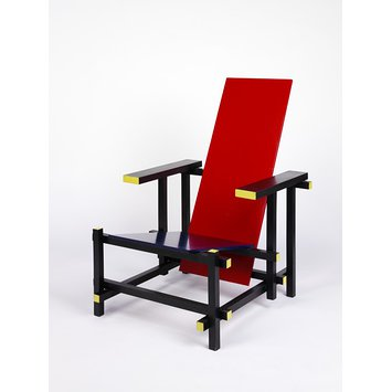 Armchair - The Red Blue Chair