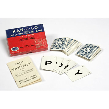 Card game - Kan-U-Go, The Crossword Card Game
