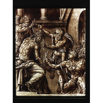 Panel - Crowing of Christ with thorns