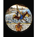 The Storm on the Sea of Galilee (Roundel)