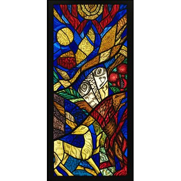 Stained glass window - The Eternal