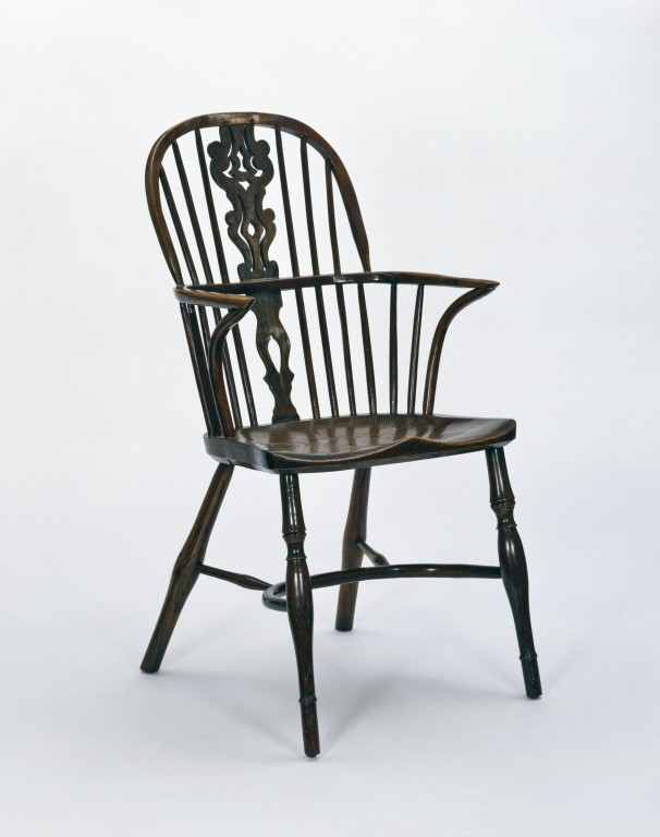 Windsor Armchair. Simpson, Thomas, Born 1797   Died 1878; Enlarge Image