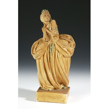 Figurine - Figurine of Edith Evans as Mrs Sullen