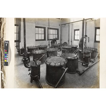 Photograph - Purifying Room and Pressure Testing Gauge