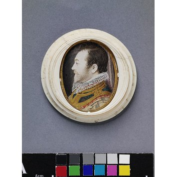 Portrait miniature - An Unknown Man, presumably a member of the Barbor Family