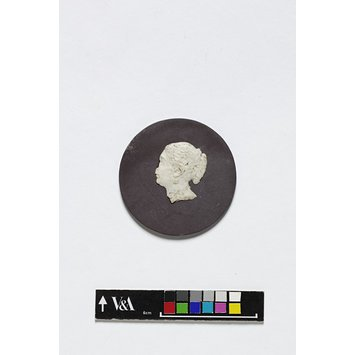 Roundel - Youthful Queen Victoria