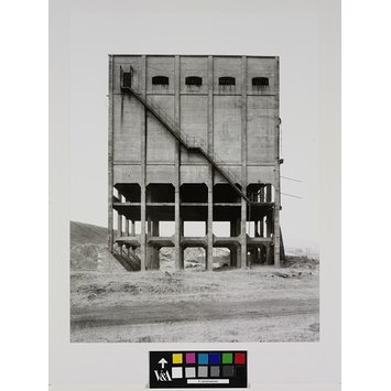 Photograph - Silo for coal, Big Pit Colliery South Wales
