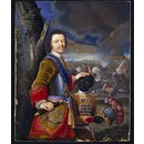 Peter the Great with a Black Page (Miniature)