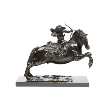 Statuette - Cupid on a Horse