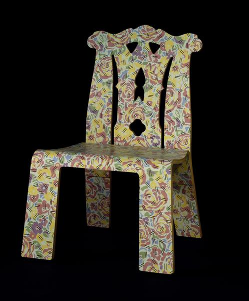 Chippendale Chair with Grandmother pattern Venturi Scott Brown V&A Se...