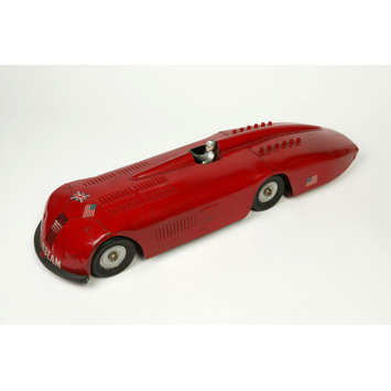 Clockwork toy car - Sunbeam Racer