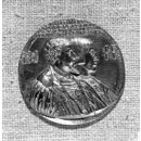 Charles V, his brother Ferdinand I, and sister Maria (Medal)