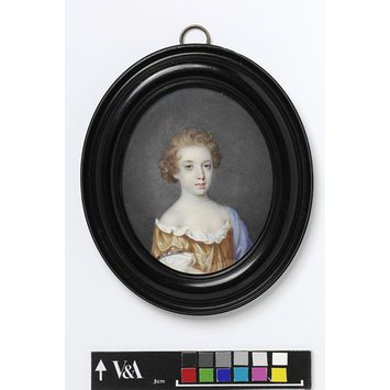 Portrait miniature - The Hon. Catherine North