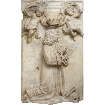 Memorial relief - Memorial to Francis Musters, 1664-1680