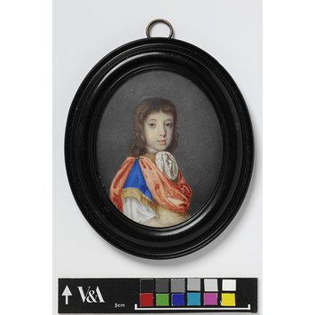 Portrait miniature - The Hon. Charles North
