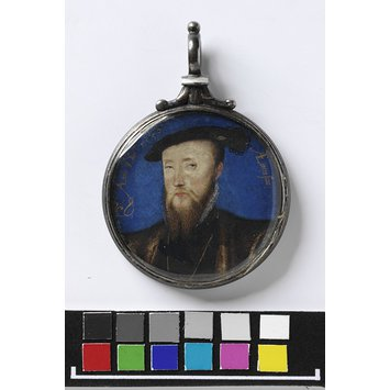 Portrait miniature - A Man, possibly Edward Seymour, 1st Earl of Hertford and 1st Duke of Somerset
