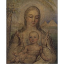 The Virgin and Child in Egypt (Tempera painting)
