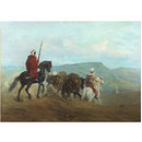 Arab Horse Soldiers (Oil painting)