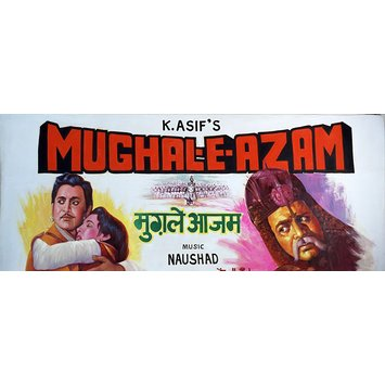 Indian film hoarding - Mughal-E-Azam