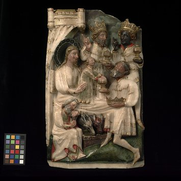 Panel - Adoration of the Magi