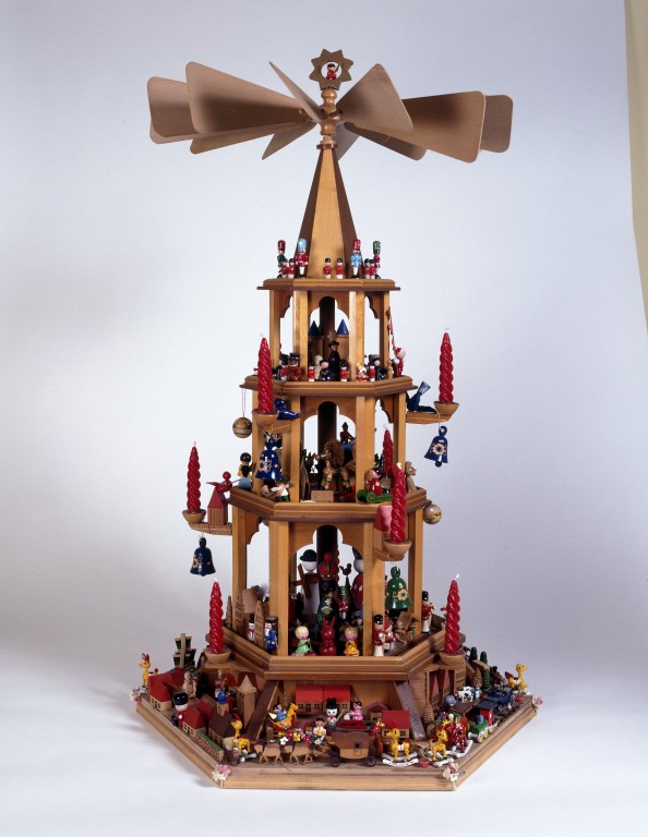 Christmas Pyramid.Christmas Pyramid V A Search The Collections