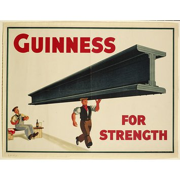 Poster - Guinness for Strength
