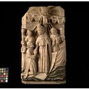 St Thomas Becket landing at Sandwich (Relief)
