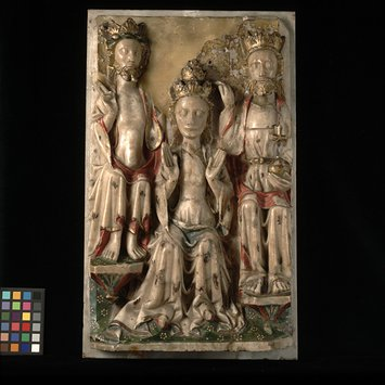 Panel - The Coronation of the Virgin