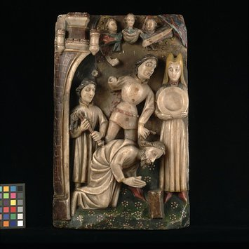 Panel - The Beheading of St John the Baptist