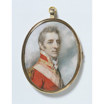 Portrait miniature - Portrait of Arthur Wellesley, later 1st Duke of Wellington