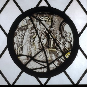 Roundel - Judgement of Solomon