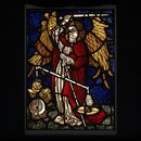 St Michael weighing a soul (Panel)