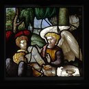Three Angels visit Abraham (Panel)