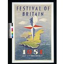 Festival of Britain 1951 May 3 - November 3 (Poster)