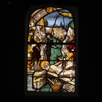 Panel - Nailing of Christ to the Cross