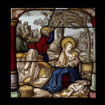 Panel - Rest on the Flight to Egypt, The