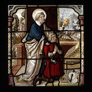 St Peter and donor (Panel)