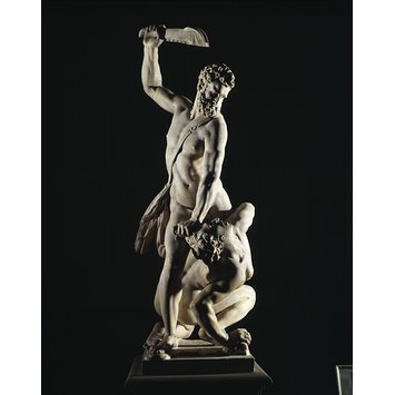 Figure group - Samson Slaying a Philistine