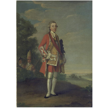 Oil painting - Portrait of an Officer, formerly identified as William Augustus, Duke of Cumberland