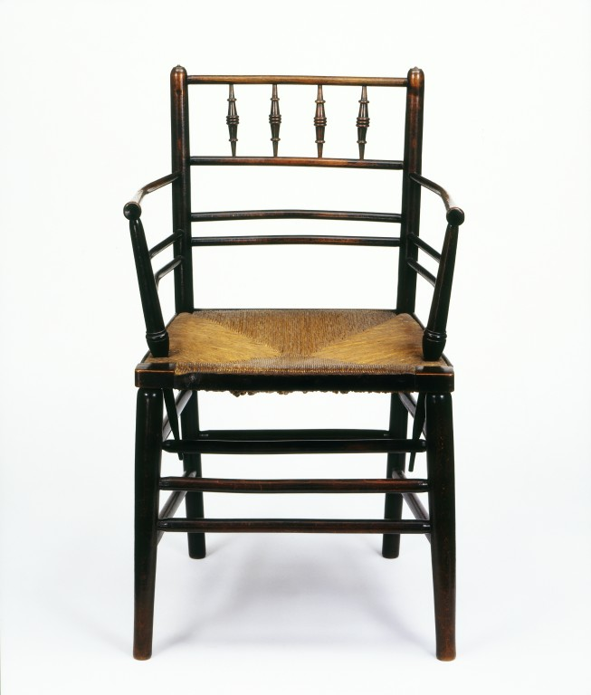 Sussex Chair Webb Philip Speakman VA Search The Collections - William morris chairs