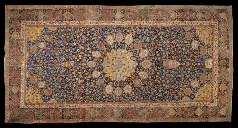 The Ardabil Carpet Carpet VampA Search Collections
