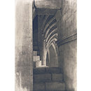 Lincoln Cathedral: Stairway in Southwest Turret (Print)